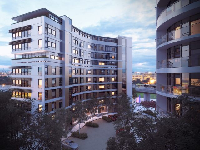 construction updates of FORTIS QUAY