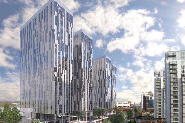X1 MEDIA CITY: PHASE II TOWER 2 - Manchester property for sale